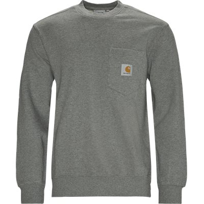Pocket Sweatshirt Regular | Pocket Sweatshirt | Grå